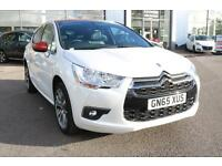 DS Ds 4 BLUEHDI DSTYLE NAV S/S (white) 2015-09-02