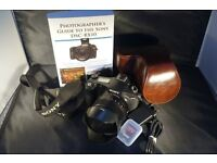 Sony RX10 Bridge Camera Hardly used. As New... With Manual ,Book & Zeiss Filter