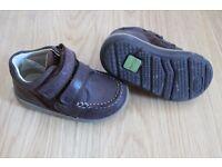 Boys Clark Shoes- Size 5 & Rain Boots - Size 5