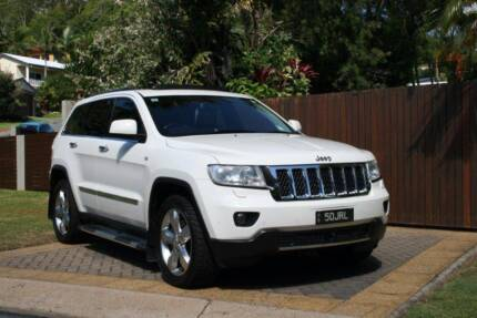 2012 Jeep Grand Cherokee WK Overland Wagon 5dr Spts Auto 6sp 4x4