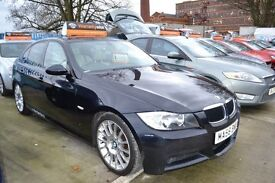 2008 58 BMW 3 Series 318D M Sport Edition - SERVICE HISTORY - SATELLITE NAVIGATION -FREE WARRANTY