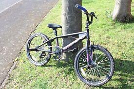 Silverfox BMX bike with stunt pegs 20ich wheels