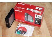 Buffalo DriveStation with 1TB WD Caviar Blue SATA3 HDD External USB Hard Drive