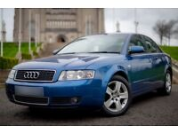 Audi A4 1.9 TDI Red I - 2004 with Full years MOT