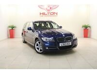BMW 3 Series 2.0 318d Exclusive Touring 5dr (blue) 2012