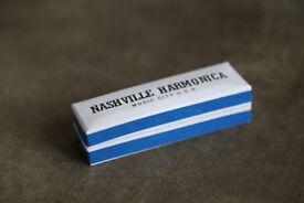 music instrument - 10 hole harmonica Nashville Harmonica - keys C