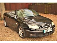 Saab 9-3 2.0 T Vector 2dr£1,990 p/x welcome HPI CLEAR!