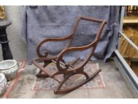 Beautiful Rocking chair frame