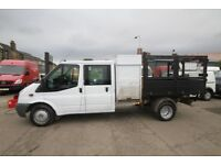 FORD TRANSIT 115 T-350 DOUBLE CAB TIPPER – 09-REG