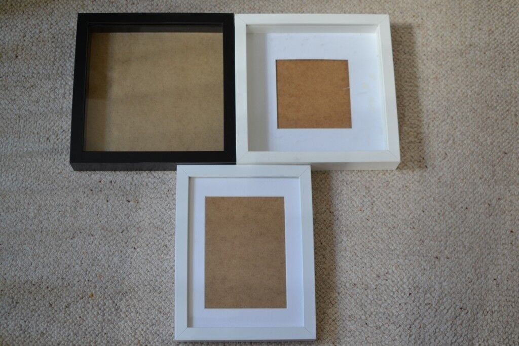 Ikea 3d Box Deep Pictures Frames And Photo Frame X3 Bundle In
