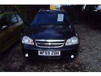 Chevrolet Lacetti auto Sx estate 2010-59-reg, ,1796cc petrol, 85,000 miles