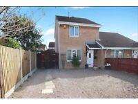 3 bed semi detached. Off road parking, large rear garden & close to amenities