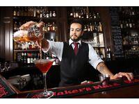 Bartender, Immediate Start, Central London