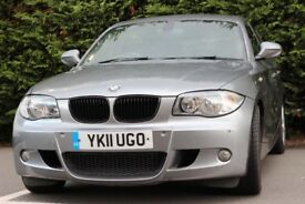 BMW ,1 SERIES 2.0 118D, M SPORT 5DR ,SERVICE HISTORY, LOW MILLAGE 77,000