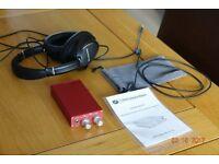 PJB Big Head Amplifer and PJB Bass Headphones