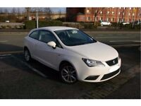 White SEAT Ibiza 1.4 16v (85ps) Toca SportCoupe 3d 1390cc, excellent condition