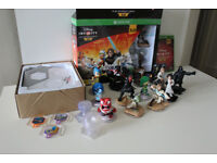 Disney Infiniti 3.0 ( Xbox one ) starter pack with figures and 4 worlds