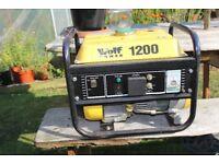 Wolf 1200w generator