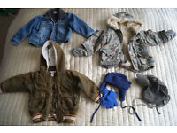 Bundle of clothes for Boys aged 1 to 2