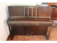 Rushworth and Dreaper Upright Piano - Ideal for a beginner -