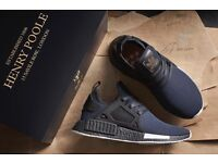 EXCLUSIVE - Adidas x size? x Henry Poole NMD XR1 MIDNIGHT BLUE UK SIZE 8