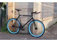 Christmas Sale GOKU Cycles Steel Frame Single speed road bike TRACK bike fixed gear bike 220