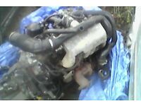 CITROEN 1.9TD COMPLETE ENGINE AND GEARBOX WITH ONLY 100.000 MILES ON IT READY TO FIT ITS ALL THERE