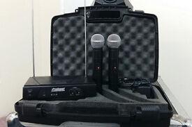 Prosound Double Radio Microphone Kit
