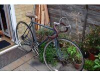 Vintage Raleigh Single Speed Road Bike, 55cm Frame, Medium