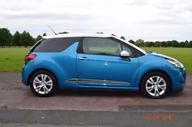 2011 Citroen DS3 1.6 E-HDi DStyle Airdream LOW MILES ZERO TAX MINT HPI CLEAR px