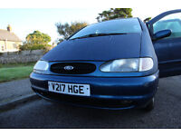 Ford Galaxy 1.9tdi V Reg Low Miles