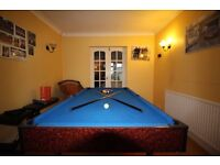 POOL / TABLE TENNIS TABLE FOR SALE - Good Condition Medium Sized Pool Table For Sale, Great for Kids
