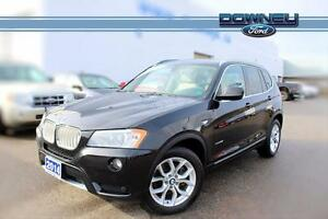 2014 BMW X3 XDRIVE28I Gorgeous BMW AWD\BACKUP CAMERA\PARK AID\