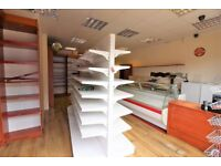 Prime location shop equipped with Shelves, Chillers, Air Conditioners --Viewing by appointment only