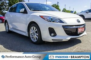 2013 Mazda MAZDA3 GS-|LEATHER|ROOF|CRUISE CTRL|BLUETOOTH|HTD SEA