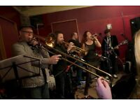 'MAMA CABASA' Funk/Soul originals band looking for experienced brass players (Trumpet/Trombone etc)