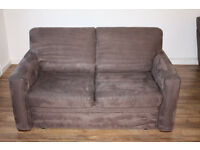 Living Room Sofa Bed Purple Suede