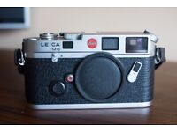 Leica M6 Silver Chrome 0.72 Fantastic condition - hardly used - MINT!!