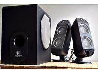 Logitech X-230 2.1 Computer Speaker System - £20 - Excellent