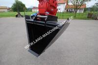Menzi Muck Trapez- Grabenprofillöffel Minibagger Bagger Bau Bayern - Petting Vorschau