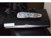 SKY PLUS HD BOX WITH REMOTE/HDMI CABLE
