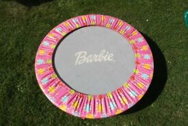 Barbie indoor or outdoor trampoline