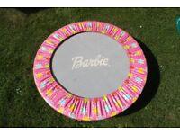 Barbie indoor or outdoor trampoline