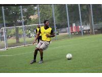 Wednesday Football games. 7vs7 Caledonian Road