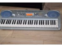YAMAHA PSR-275 KEYBOARD POWER ADAPTER INCLUDED CAN BE SEEN WORKING
