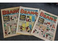 Beano Collection - 1,707 comics from April 1975 - April 2009, 60+ annuals.