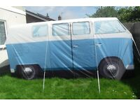 Volkswagon Shaped Tent As New