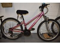 """bicycle girls apollo vivid. 24"""" wheel at £30 perfect for school holidays!"""