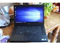 """Dell i5 laptop 6GB ram 500GB hard drive, DVD, USB, Firewire, 15.4"""" HD+ screen"""