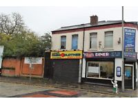 88a Townsend Lane, Anfield, Liverpool. 1 bed flat above commercial premises. DSS applicants welcome